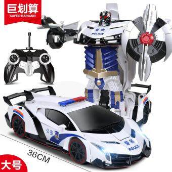 Harga Gogoso deformation 4 Diamond toy remote control car deformation of the Autobot Bumblebee robot charging boy toy