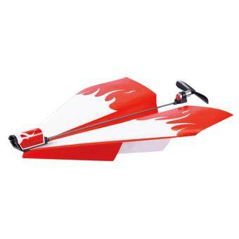Harga Power Up Driven Paper Plane DIY Children Outdoor Indoor Model Toy