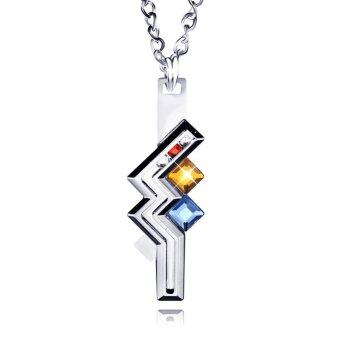 Harga Fancyqube Final Fantasy Alloy Metal Pendant of Lightning Sign Necklace Thunder Return Pendant Ornaments