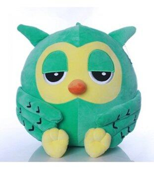 Harga Owl Bird Doll Stuffed Plush Toys 40cm (Green)