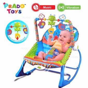 Harga PRADO Baby Rocker Bouncer New Born Toddler Music Chair wt Safety Belt TOY-68110