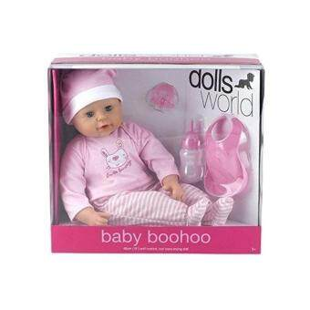 Harga Dolls World - 46cm Soft Bodied Baby Boohoo Crying Doll