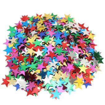 Harga Muilt Color Sparkle Heart Star Confetti Paper Wedding Table Decoration DIY Craft Mini Stars