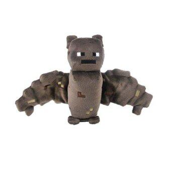 Harga Zoofy International Minecraft Bat Plush Brown