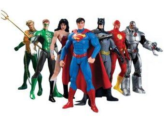 Harga [OEM] We Can Be Heroes Justice League 7-Pack Action Figures