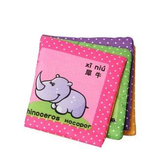 Harga Fancytoy Educational Toy for Kid Baby Intelligence development Cloth Cognize Book