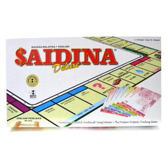Harga Saidina Business Property Trading Game DELUXE Set - Quality Playing Board