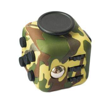 Harga Camouflage Magic Fidget Cube Relieves Squeeze Fun Stress Reliever Anxiety Multicolor