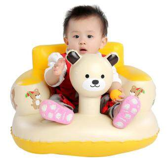 Harga EOZY Baby Inflatable Sofa Thickened Chair Portable Bath Seat