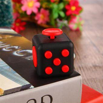 Harga (Grind arenaceous feel)3.5*3.5 Sale! Desk Toy Fidget Cube Relieves Anxiety Stress Juguete Adults Squeeze Fun Fidget Cube Desk Spin Toys Special needs autism
