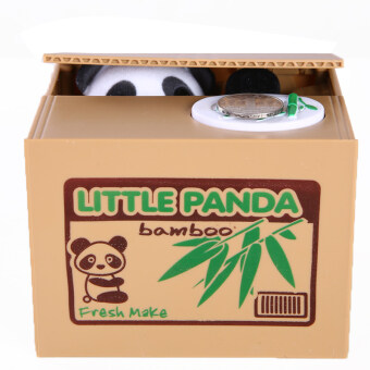 Harga Mischief Saving Box Little Panda Saving Box Toy Funny Saving Box Animals Panda Automatic Electric Stole Coin Piggy Bank As Gift