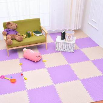 Harga Foam Play Mats (20 Tiles) Kids Playmat Tiles | Non-Toxic Interlocking Floor Children & Baby Room Soft EVA Thick Color Flooring Square Rubber Babies Toddler Infant Exercise Area Carpet