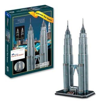 Harga Jigsaw 3D Puzzle Twin Towers Model For Kids Educational Toy