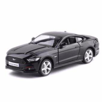 Harga Collectible Car Model Mustang 1/36 Diecast Black Car Vehicles Model Toy For Kids