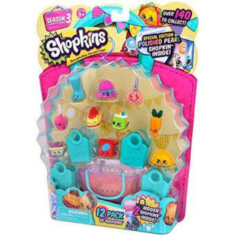 Harga SHOPKINS Season 3 Ultra Rare Special Limited Edition Pack Jewels Bags Toys