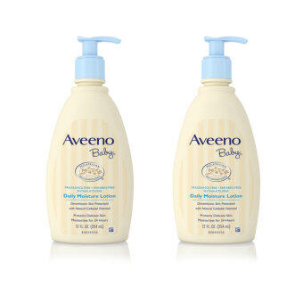 Harga Aveeno Baby Daily Moisture Lotion Twin pack (354ml x 2)