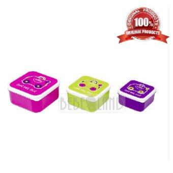Harga TRUNKI - Snack Pots (3 Snack Containers)
