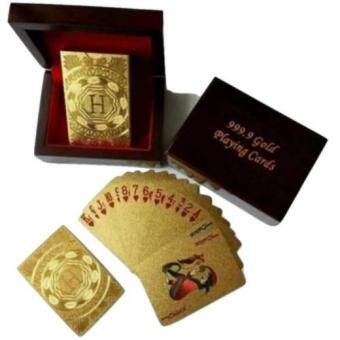 Harga Play Collection Poker Gold Playing Card Hermas Collection