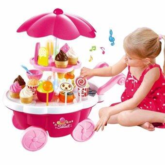Harga Sweet Shop Luxury Candy Ice-Cream Cart