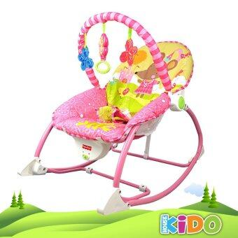 Harga Kido House - Fisher-Price W2583 Infant-to-Toddler Rocker Chair (PINK)