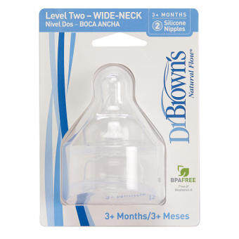 Harga Dr Brown's Level 2 WN Teats (2pcs)
