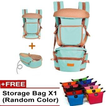 Harga Ibaby Quality Baby Hipseat Baby Carrier Korea Brand Shoulder FREE Baby Carry Bag (Tiffany)