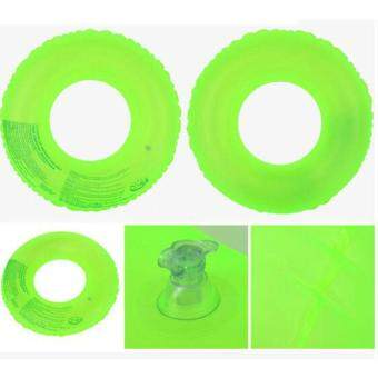 Harga Fluorescent Green Inflatable Circle Floating Swim Ring Swimming Laps for Kids,70#
