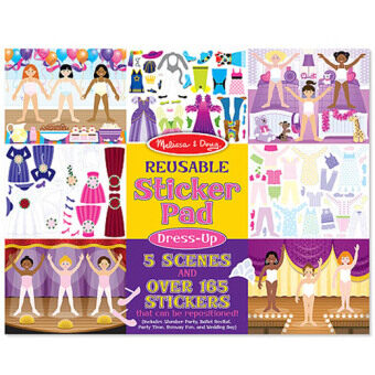 Harga MELISSA & DOUG Dress-Up Reusable Sticker Pad
