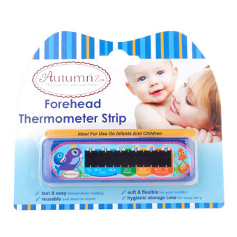 Harga Autumnz Forehead Thermometer Strip (Dolphin)