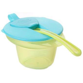 Harga Tommee Tippee Cool And Mash Weaning Bowl Blue