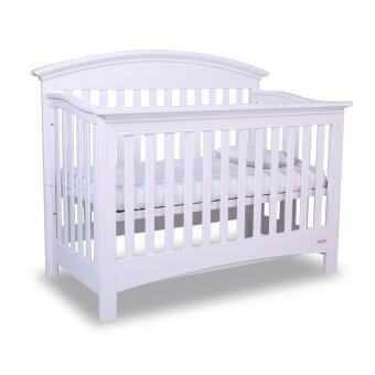 Harga Papacare Charles Convertible Crib (White)