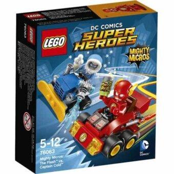 Harga LEGO DC Super Heroes 76063 - The Flash vs. Captain Cold ( Mighty Micros )