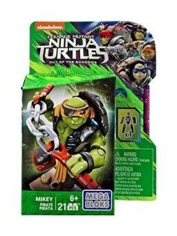 Harga Mega Bloks Teenage Mutant Ninja Turtles Out of the Shadows Mikey Set DPW17 [Pirate]