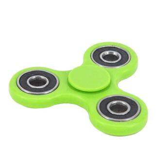 Harga High Quality Tri-Spinner Fidget Toy Plastic EDC Fidgets Hand Spinner For Autism and ADHD Increase Focus Keep Hands Busy