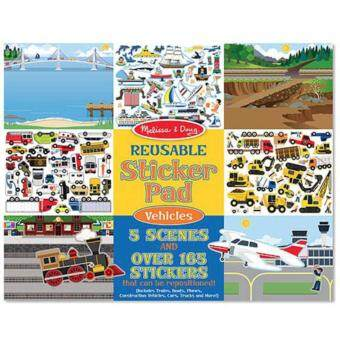 Harga MELISSA & DOUG Vehicles Reusable Sticker Pad