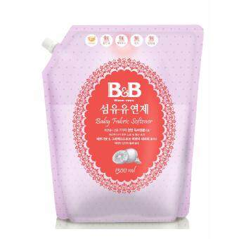 Harga B&B Baby Fabric Softener Bergamot Refill 1300ml