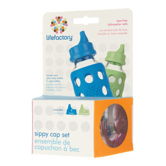 Harga Lifefactory Accessories - Sippy Cap (Ocean & Spring Green)