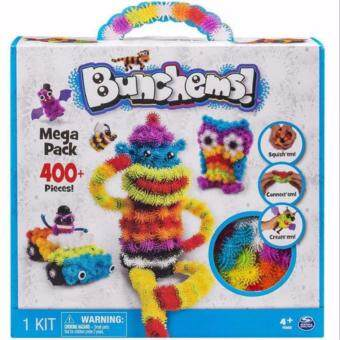 Harga Bunchems Mega Pack 400 Pieces Children Educational Stacking Toy