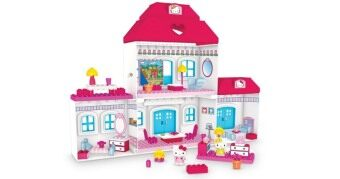 Harga Mega Bloks Hello Kitty Dream House