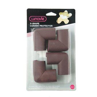 Harga Lunavie Coffee L-Shape Corner Protector (4pcs/set)