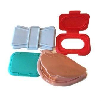 Harga Bitatto Reusable Wet Wipes Lid (4 Pcs Travel Set)