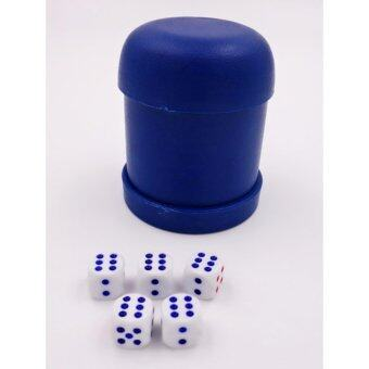 Harga Blue Dice Cup with 5 dice set