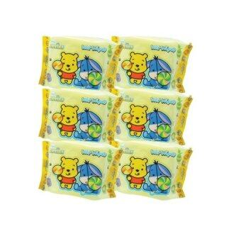 Harga Disney Cuties Wet Wipes Value Set 30PCS - Eeyore & Pooh