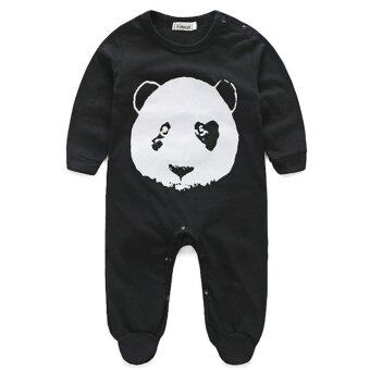 Harga Rompers Panda Infant Baby Clothes Set
