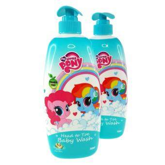 Harga My Little Pony Baby Head To Toe Tear Free Baby Wash Shampoo 2 x 750ml Honey Soya Bean