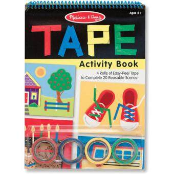 Harga MELISSA & DOUG TAPE ACTIVITY BOOK