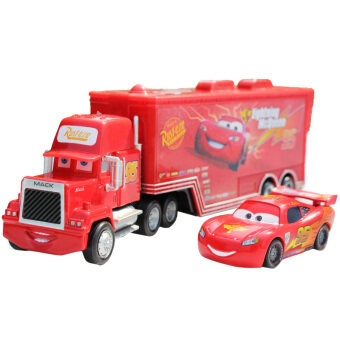 Harga Disney Pixar Car Mack Racer's Truck Lightning McQueen Toy Cars For Boys