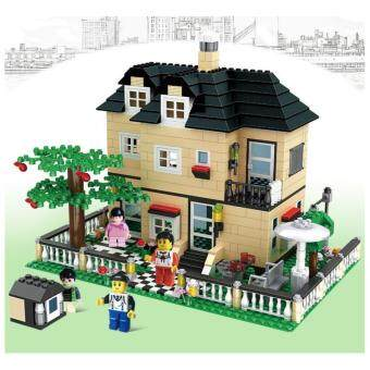 Harga LEGO compatible Bungalow House (Best Gift)