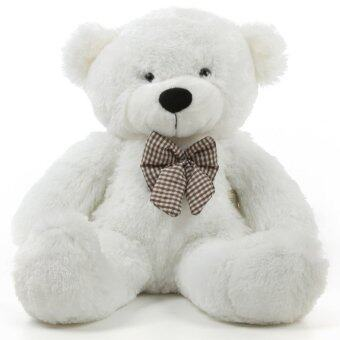 Harga 1 Meter (100cm) Giant Teddy Bear (Cream / White)