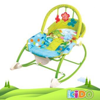 Harga Kido House - Fisher-Price W2583 Infant-to-Toddler Rocker Chair (GREEN)